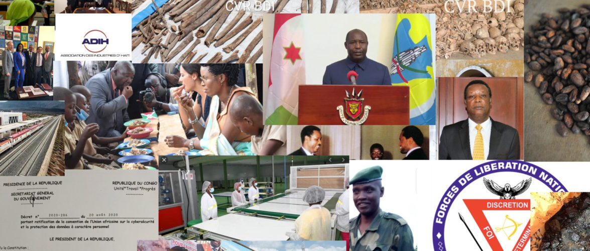 BURUNDI /  Petit tour sur l'actualité sur KAMA ou l' AFRIQUE , AFRICA – SEPTEMBRE 2020 / 27-09-2020
