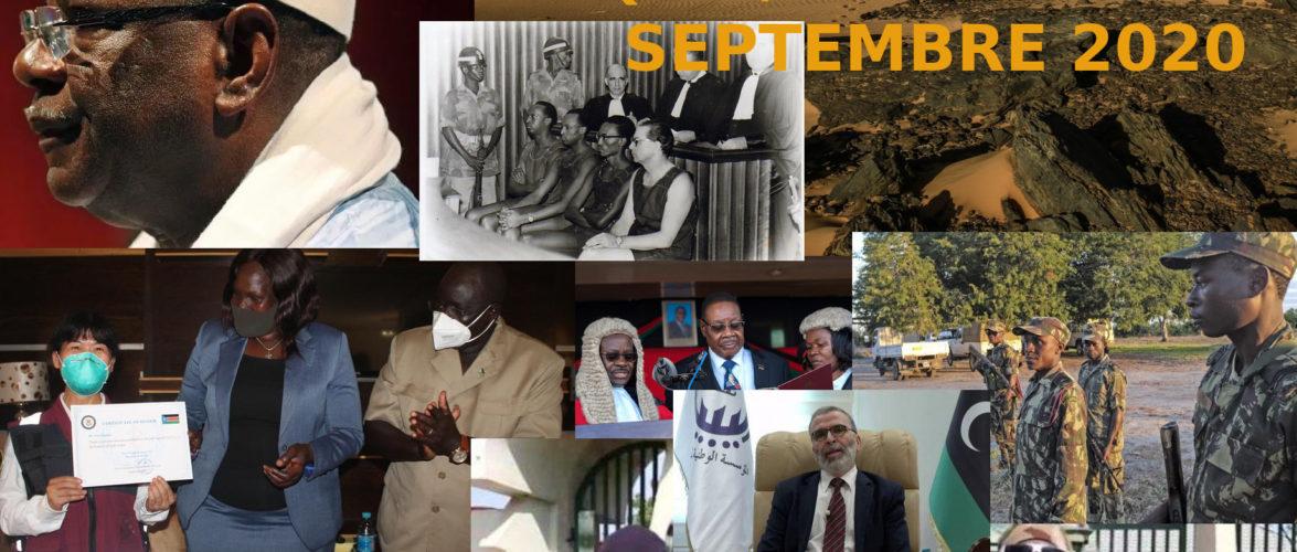 BURUNDI /  Petit tour sur l'actualité sur KAMA ou l' AFRIQUE , AFRICA – SEPTEMBRE 2020