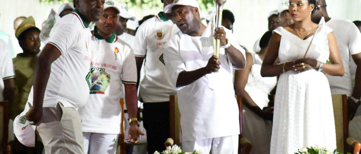 Le Chef d'Etat a lancé la 14ème édition du Flambeau de la Paix à BUJUMBURA / BURUNDI