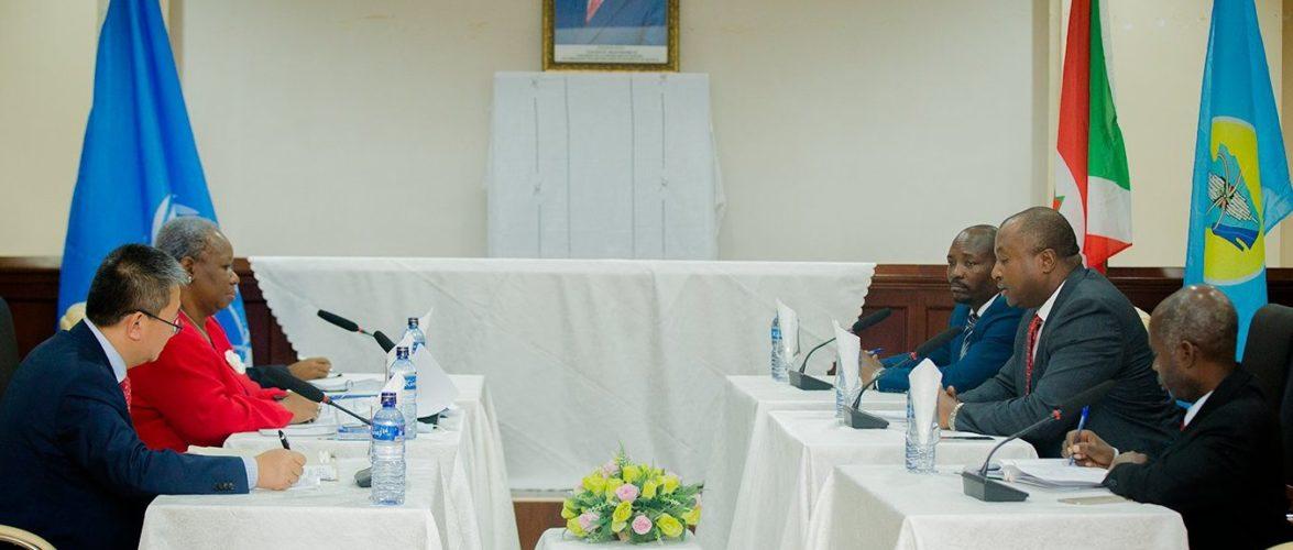 Echange cordial avec une  mission d'évaluation stratégique de l'ONU en visite / BURUNDI