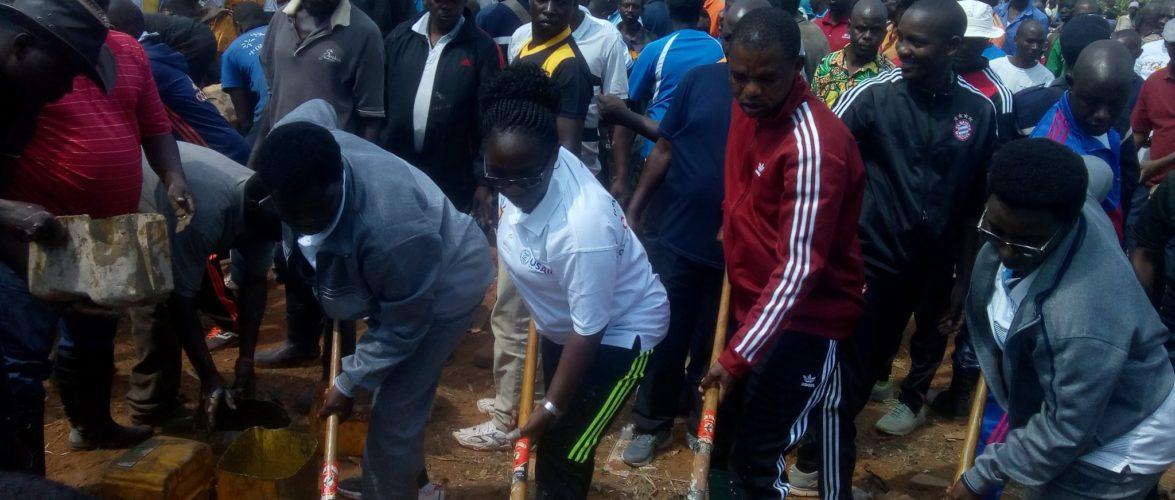 TRAVAUX DE DEVELOPPEMENT COMMUNAUTAIRE – Construction du Bureau Provincial du Cabinet du Gouverneur, RUYIGI / BURUNDI