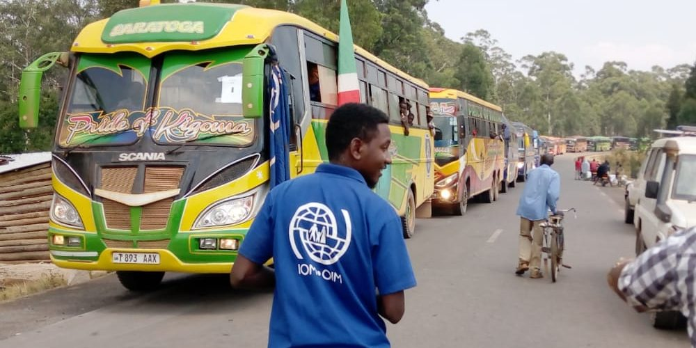 Arrivée de 819 réfugiés Burundais rapatriés de TANZANIE, MAKAMBA / BURUNDI