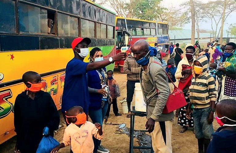 Arrivée de 423 réfugiés Burundais rapatriés de TANZANIE, MAKAMBA / BURUNDI