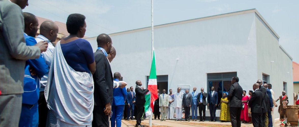 Inauguration du siège social du Barreau de GITEGA / BURUNDI