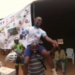 Le cycliste NIZEYIMANA Jacques, Champion national 2020, CIBITOKE / BURUNDI