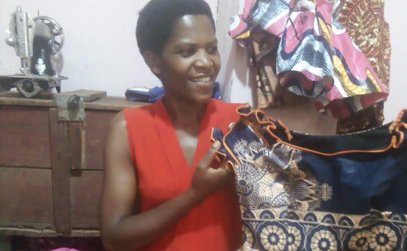 Anitha, la couturière professionnelle, GITEGA / BURUNDI
