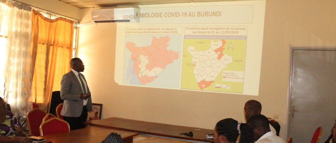 COVID-19 – L'épidémie maîtrisée à l'intérieur du pays / BURUNDI