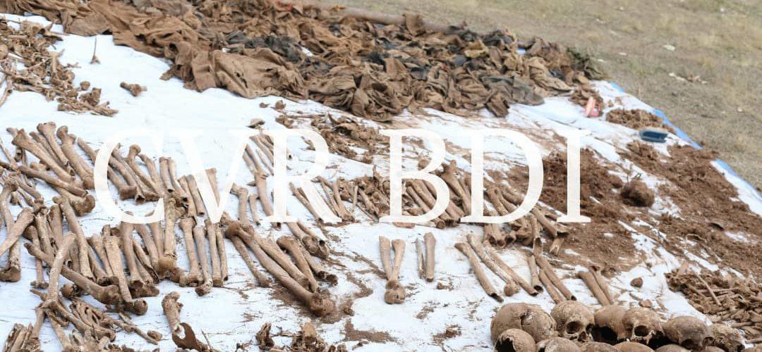 GENOCIDE CONTRE LES HUTU DU BURUNDI DE 1972 : Les os de 27 victimes dans une fosse commune à VUGIZO / MAKAMBA