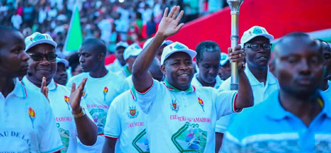 Clôture du – URUMURI RW AMAHORO 2020  – , soit  Flambeau de la Paix 2020,  GITEGA / BURUNDI