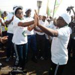Arrivée du Flambeau de la Paix 2020 à CANKUZO / BURUNDI