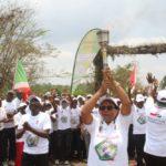 Le Flambeau de la Paix 2020 entre dans MAKAMBA / BURUNDI