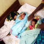 Une famille donne naissance à des triplets à KARUSI / BURUNDI