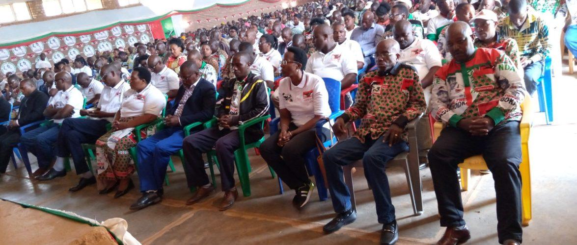Le CNDD-FDD KAYANZA fédéré autour des actions du Président NDAYISHIMIYE / BURUNDI