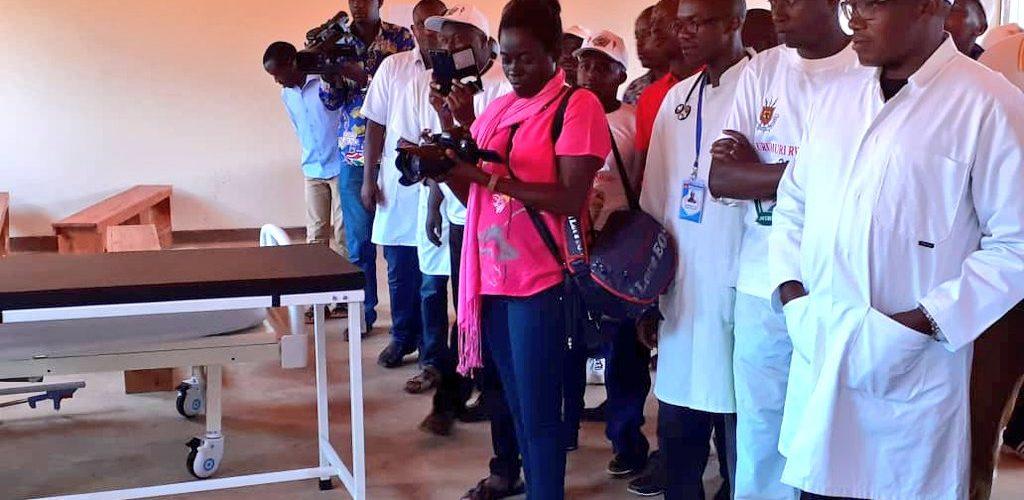 L'Hôpital Communautaire Santé Mère Enfant de GIKO à BUKEYE, MURAMVYA / BURUNDI