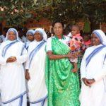 La PREMIERE DAME visite le Centre des Missionnaires de la Charité CALCUTTA, MUYINGA / BURUNDI