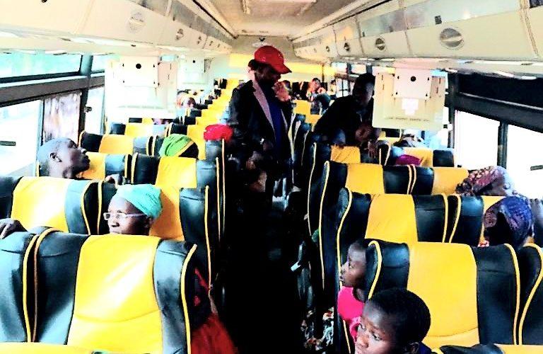 Retour volontaire de 623 réfugiés de TANZANIE à MAKAMBA / BURUNDI