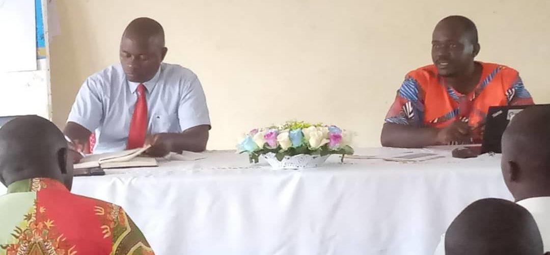 Réunion sur la Politique Sanitaire de  la province de RUMONGE / BURUNDI