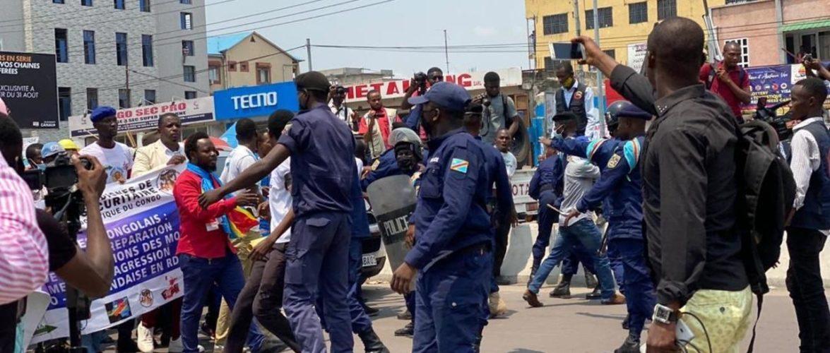 RDC: les manifestations pour exiger l'expulsion de l'ambassadeur du Rwanda se poursuivent