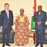 Le Chef de l'Etat reçoit en audience la délégation onusienne de haut niveau