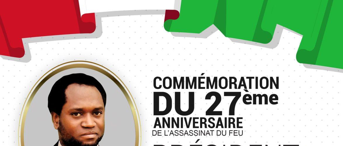 Le Jeudi 21 octobre 1993,  – BUYOYA –  passait à l'action en assassinant Feu NDADAYE Melchior, Président du BURUNDI