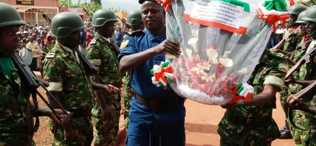 Commémoration de Feu le Héros NDADAYE Melchior à KARUSI / BURUNDI