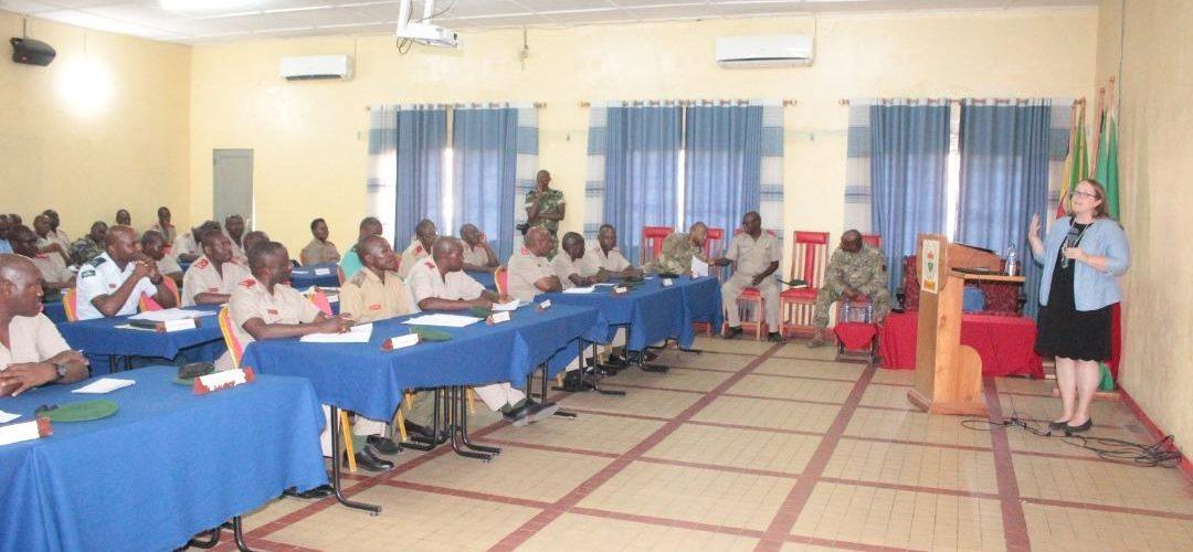 DEFENSE : Les USA expliquent L' AFRICOM à la FDNB / BURUNDI