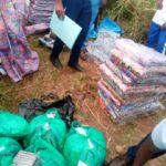 L'OBR saisit des marchandises fraudées à NYABUGETE, BUJUMBURA / BURUNDI
