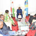 Message de S.E. TSHISEKEDI TSHILOMBO, Président de la RDC CONGO ,  à  S.E. NDAYISHIMIYE, Président du BURUNDI