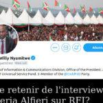 Que retenir de l'interview de Valeria Alfieri sur RFI / BURUNDI