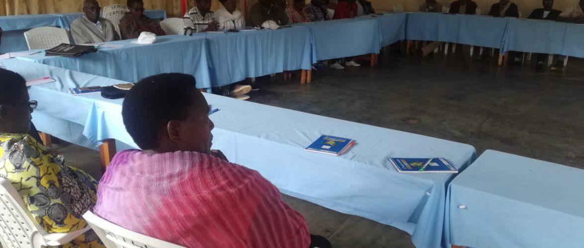 Formation destinée aux leaders communautaires à BURURI