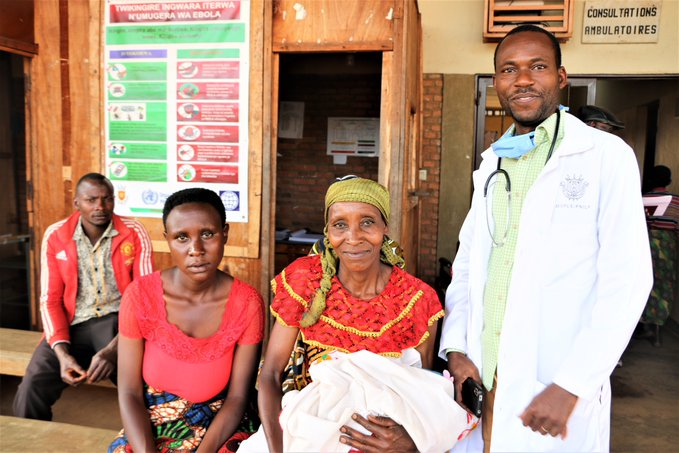 Dr. NDUWIMANA , Médecin à l'Hôpital de MABAYI, CIBITOKE / BURUNDI