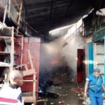 Incendie au Marché de KAMENGE, BUJUMBURA / BURUNDI