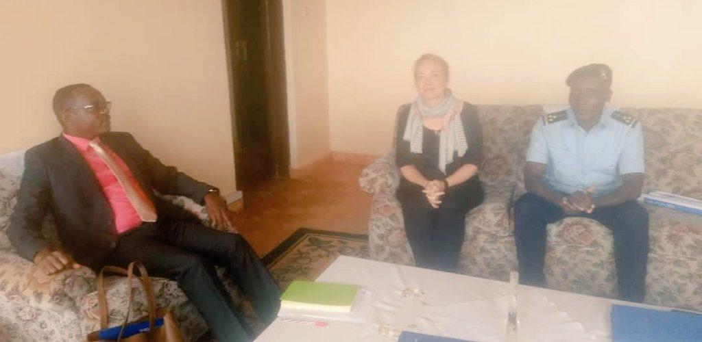 Visite de  UNOCHA à MURAMVYA / BURUNDI