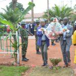 Cérémonie en mémoire du Héros national Feu RWAGASORE , MUYINGA / BURUNDI