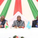 Rencontre avec les élus et les administratifs de MWARO / BURUNDI