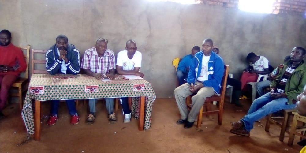 Le CNDD-FDD NYABIHANGA échange PROGRAMME avec ses sections collinaires, MWARO / BURUNDI