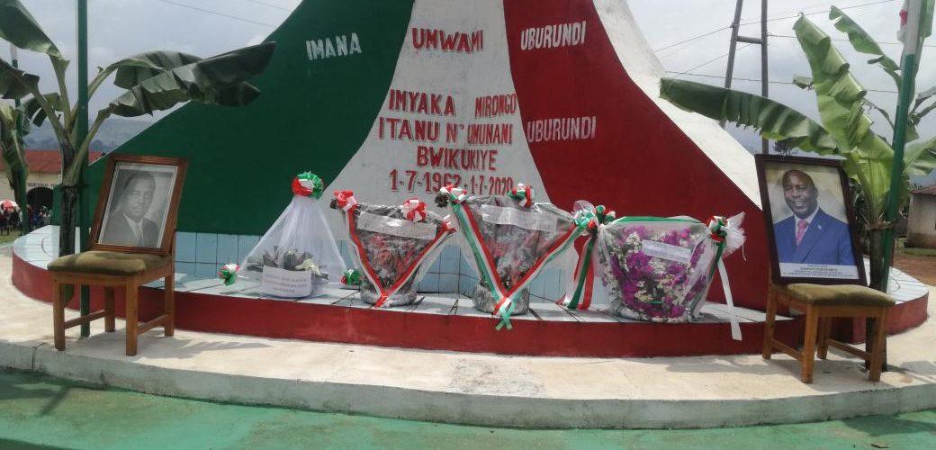 Commémoration du Héros national MUGANWA Feu RWAGASORE, BURURI / BURUNDI