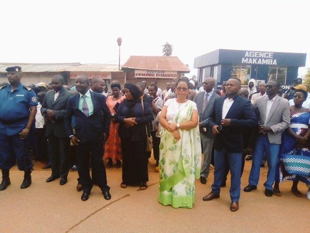 MAKAMBA se souvient de FEU RWAGASORE / BURUNDI