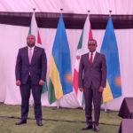Le BURUNDI et le RWANDA  s'organisent une 1ère Visite de travail officielle depuis 2015