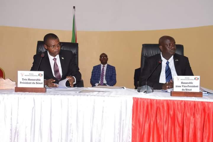 Le Sénat adopte le projet de loi relatif aux procédures fiscales et non fiscales / BURUNDI