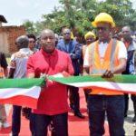 Le Chef l'État lance officiellement la construction des hôpitaux communaux