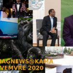BURUNDI / Petit tour sur l'actualité sur KAMA ou l' AFRIQUE , AFRICA – NOVEMBRE 2020 / 25-11-2020