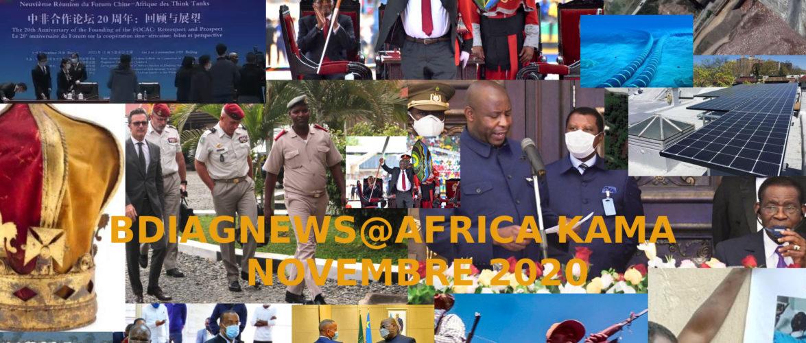 BURUNDI / Petit tour sur l'actualité sur KAMA ou l' AFRIQUE , AFRICA – NOVEMBRE 2020 / 11-11-2020