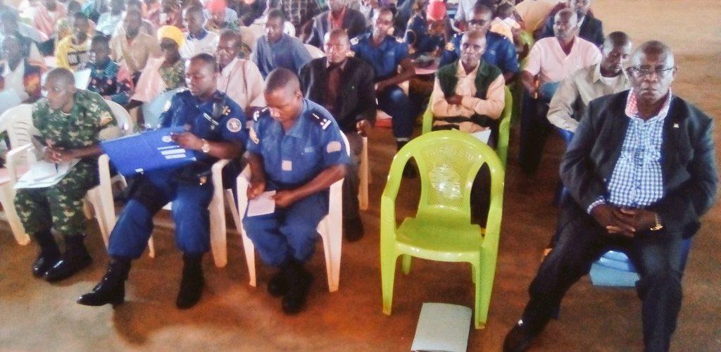 BURUNDI : Un atelier était organisé par le Conseil National de Sécurité à MAKAMBA