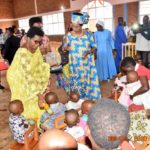 FONDATION UMUGIRANEZA - La Première Dame visite un orphelinat à KARUSI / BURUNDI