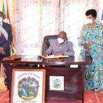 GUINEE EQUATORIALE : Fin de visite d'Etat panafricaine – Le couple Présidentiel à MONGOMO avant le retour au BURUNDI