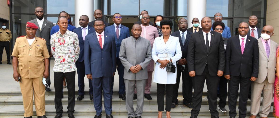 GUINEE EQUATORIALE : Visite d'Etat panafricaine – Le couple présidentiel du BURUNDI à BATA et DJIBLOHO