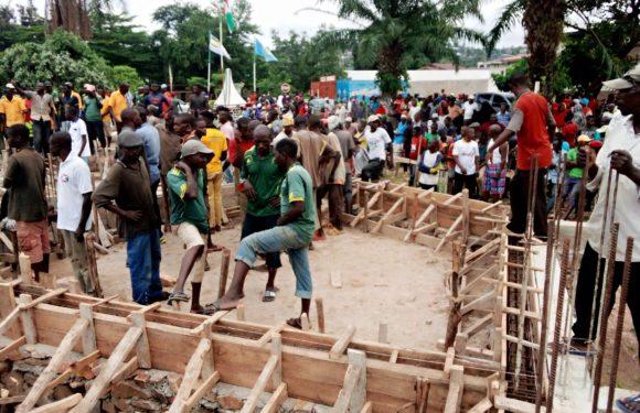 BURUNDI : TRAVAUX DE DEVELOPPEMENT COMMUNAUTAIRE – Construire le Bureau Provincial de RUMONGE