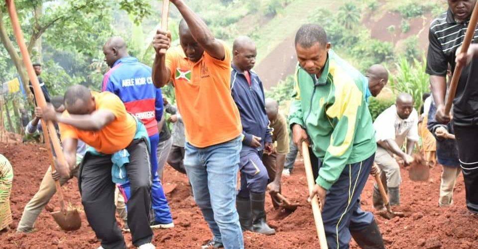 TDC – Construire le bureau du chef de la colline NYAMBUYE à ISARE / BUJUMBURA