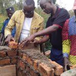 BURUNDI : TRAVAUX DE DÉVELOPPEMENT COMMUNAUTAIRE  - Construction d'une église en colline NGARA, KIGANDA / MURAMVYA